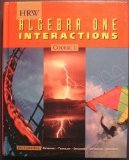 9780030953545: Pe Algebra One Interactions: Crs 1 98