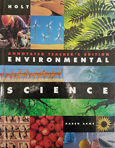 Holt Environmental Science: Arms, Karen