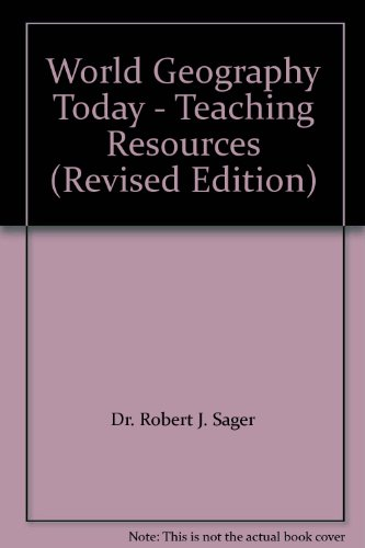 9780030956492: World Geography Today - Teaching Resources (Revised Edition)