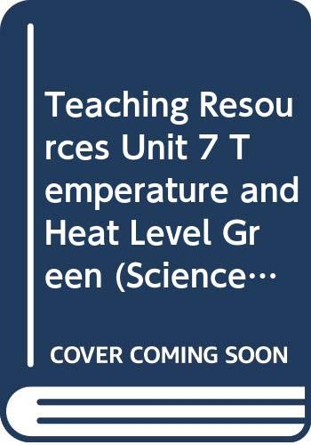 9780030956652: Teaching Resources Unit 7 Temperature and Heat Level Green (SciencePlus Technology and Society)