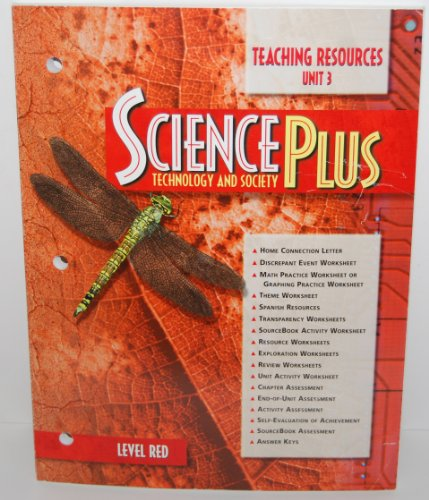 9780030956751: Science Plus Technology and Society - Level Red (Diversity of Living Things, Teaching Resources Unit 2