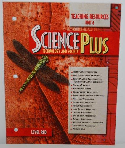 9780030956799: Tchng Res - Unit 6 Sciplus: T&s 97 Red