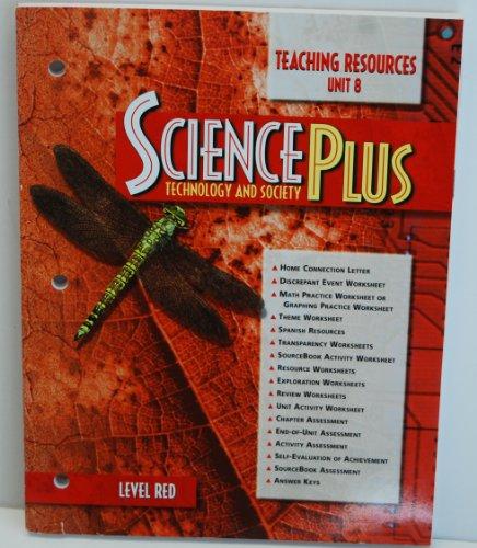 9780030956812: Tchng Res - Unit 8 Sciplus: T&s 97 Red