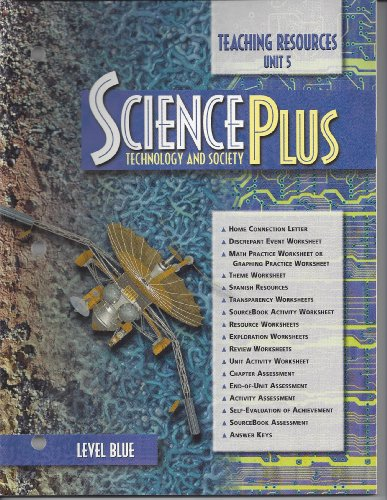9780030956935: SciencePlus: Technology and Society, Level Blue, Unit 5 - Electromagnetic Systems (Teaching Resources)