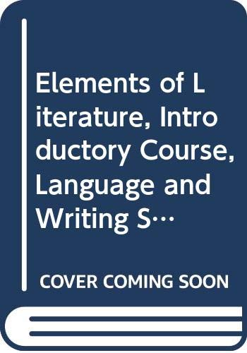 9780030957277: Elements of Literature, Introductory Course, Language and Writing Skills Worksheets