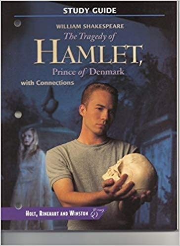 9780030957734: The Tragedy of Hamlet, Prince of Denmark (Study Guide)