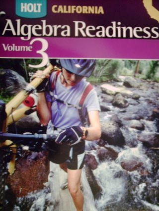 9780030958021: Holt Algebra Readiness California: Student Edition Volume 3