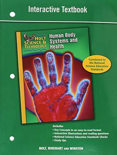 9780030958151: Holt Science & Technology: Interactive Textbook D: Human Body Systems and Health