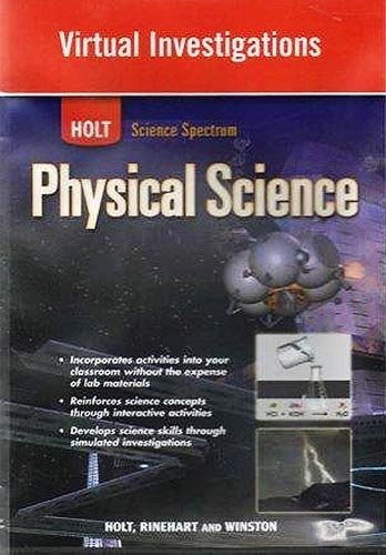 Physical Science Virtual Investigations: Holt