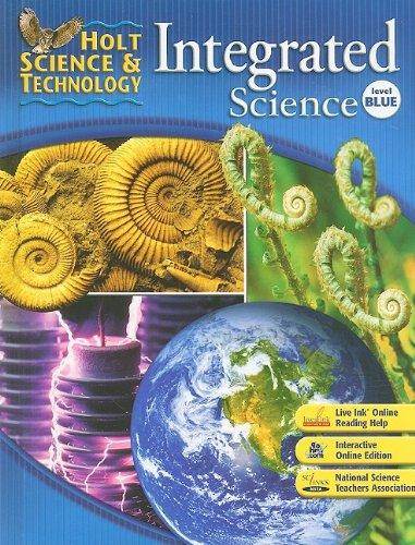 9780030958694: Holt Science & Technology: Student Edition Level Blue Integrated Science 2008