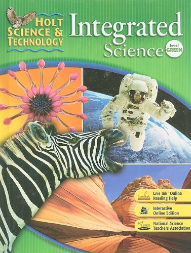 9780030958700: Holt Science & Technology: Integrated Science: Student Edition Level Green 2008