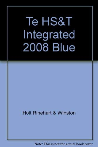9780030958854: Integrated Science, Level Blue, Teacher's Edition