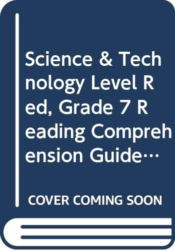 9780030959059: Holt Science & Technology: Integrated Science: Reading Comprehension Guide, Spanish Level Red