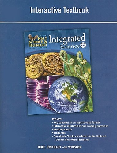 9780030959219: Holt Science & Technology: Interactive Textbook Level Blue Integrated Science