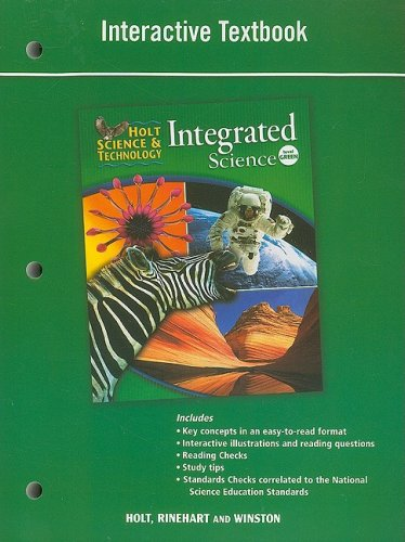 9780030959226: Holt Science & Technology Integrated Science, Level Green: Interactive Textbook (Hs & T Integrated 2008)