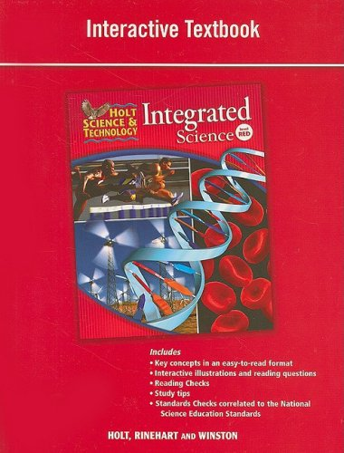 9780030959233: Holt Science & Technology: Integrated Science: Interactive Textbook Level Red