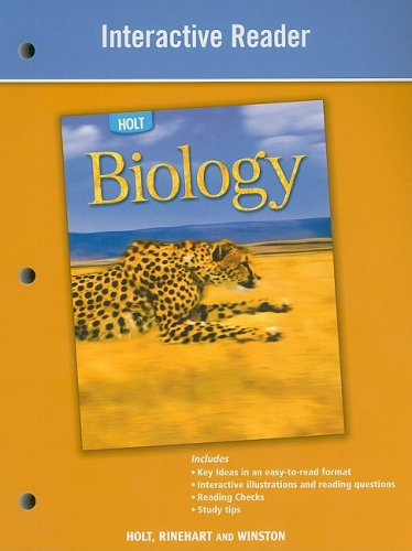 9780030960062: Holt Biology: Interactive Reader