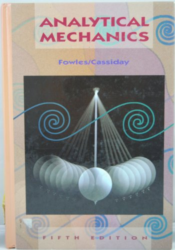 9780030960222: Analytical Mechanics (Saunders golden sunburst series)