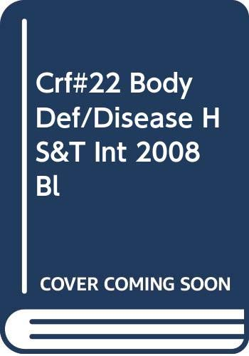 9780030961076: Holt Science & Technology Integrated Science, Level Blue: Chapter Resource File, No. 22: Body Defenses and Diseases
