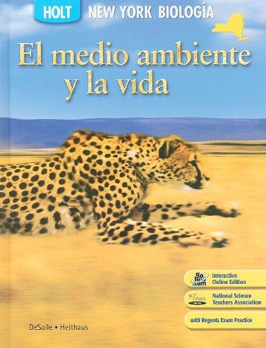 9780030961502: Nueva York Holt Biologia: El Medio Ambiente y la Vida (Holt Biology 2008)