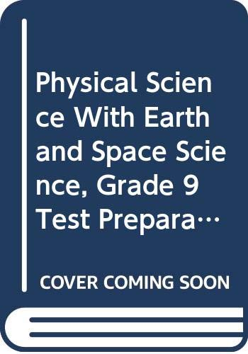 9780030962059: Holt Science Spectrum: Physical Science with Earth and Space Science Michigan: Holt Science Spectrum: Physical Science Test Preparation Workbook (Help (Sci Spec Phys 2008 E/S)