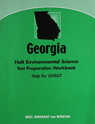 9780030962172: Holt Environmental Science Georgia: Holt Environmental Science Test Preparation Workbook (Help for theGHSGT)