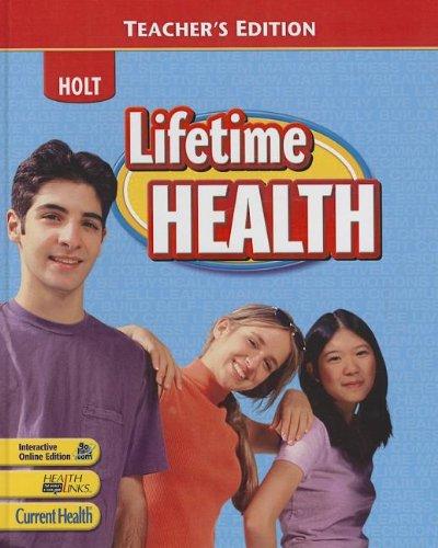 9780030962202: Lifetime Health: Teacher's Edition 2009