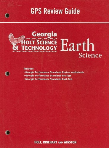 Holt Science and Technology: Life, Earth, and: HOLT, RINEHART AND
