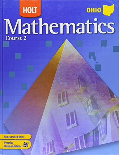 9780030962752: Holt Mathematics Ohio: Student Edition Course 2 2007