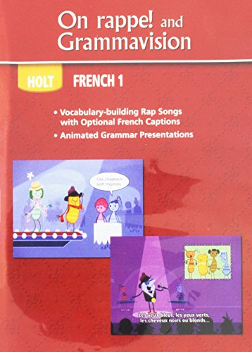 9780030963148: Bien dit!: On rappe! and Grammavision Level 1A/1B/1