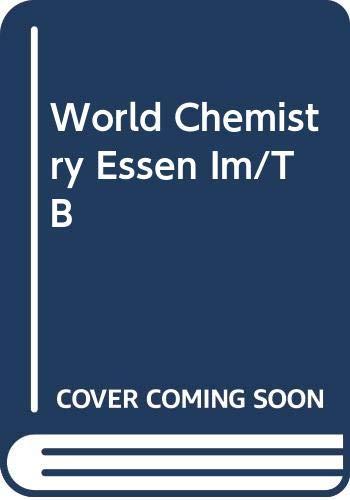 9780030963483: World Chemistry Essen Im/TB