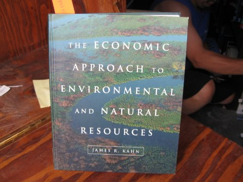 9780030963520: The Economic Approach to Environmental and Natural Resources (The Dryden Press series in economics)