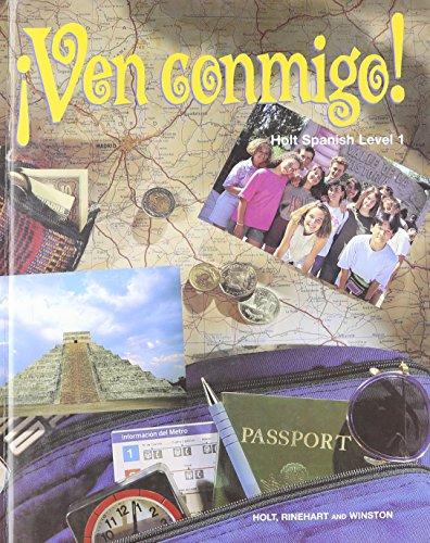 9780030965227: Holt ?Ven conmigo!: Student Edition Level 1 1996