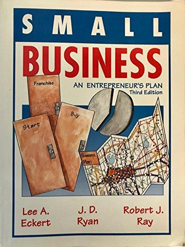 9780030965852: Small Business: An Entrepreneur's Plan