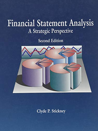 9780030965944: Financial Statement Analysis: A Strategic Perspective
