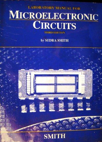 9780030966002: Microelectronic Circuits: Laboratory Manual to 3r.e