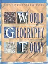 9780030967955: World Geography Today