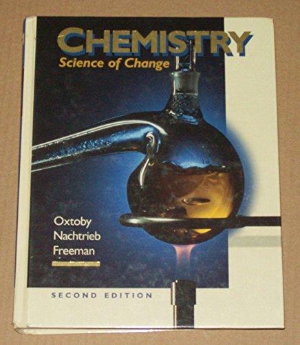 9780030968013: Chemistry: Science of Change (Saunders golden sunburst series)