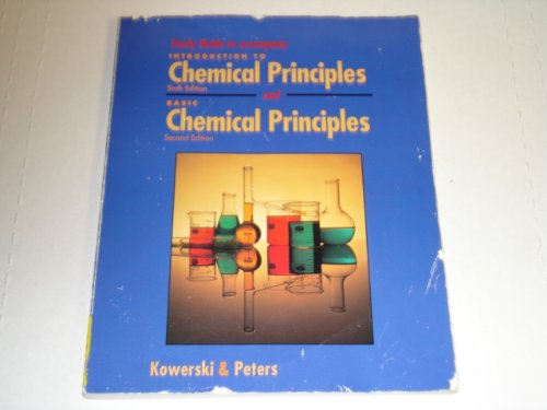 9780030968136: Introduction to Chemical Principles