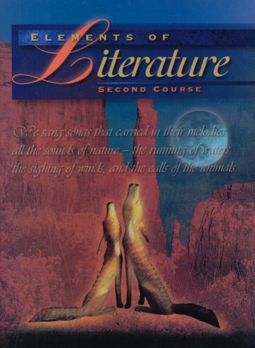 9780030968303: Elements of Literature Second Course