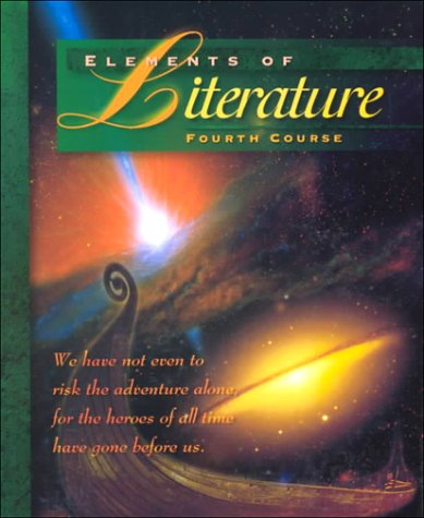 9780030968327: Elements of Literature Fourth Course