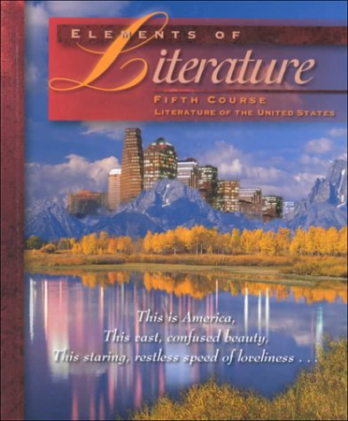Elements of Literature: Fifth Course: Robert Anderson