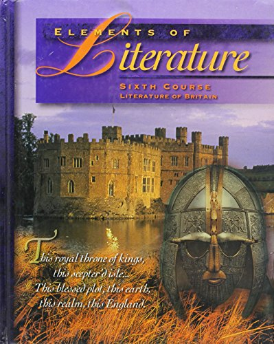 9780030968341: Elements of Literature: Sixth Course : Literature of Britain World Classics