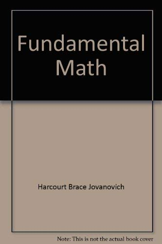 9780030968808: Fundamental Math