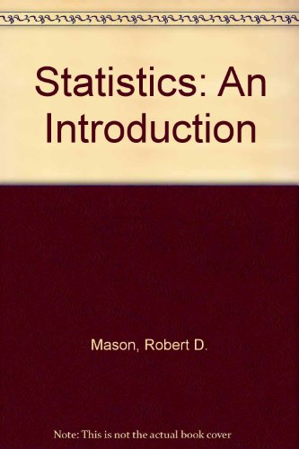 9780030969171: Statistics: An Introduction