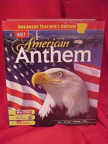 9780030969508: American Anthem Arkansas Teacher's Edition