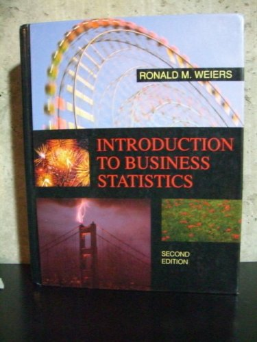 9780030969584: Introduction to Business Statistics