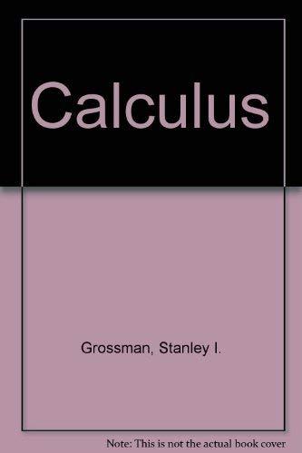 9780030969713: Calculus