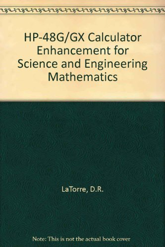 9780030970009: HP-48G/GX Calculator Enhancement for Science and Engineering Mathematics