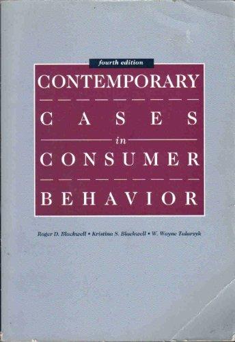 9780030970382: Contemporary Cases in Consumer Behavior